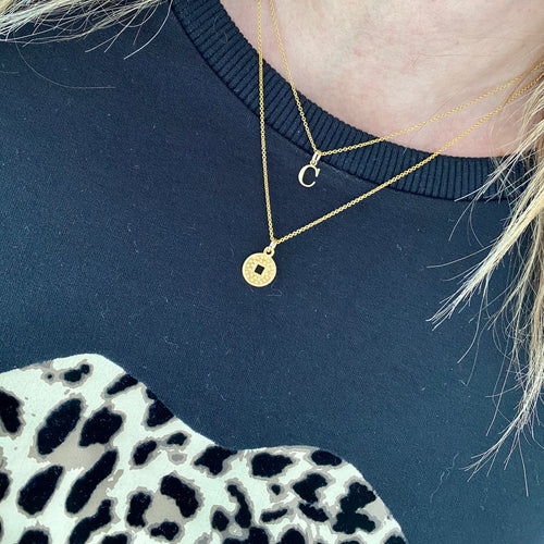 Gold Coin Necklace - KookyTwo