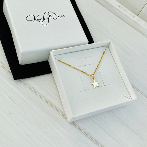 Gold Star Necklace - KookyTwo