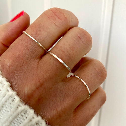 STACKS | Silver Stacking Rings