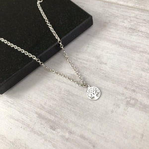 Silver Tree of Life Anklet - KookyTwo
