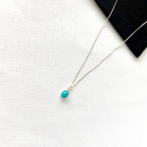 Silver Amazonite Necklace - KookyTwo