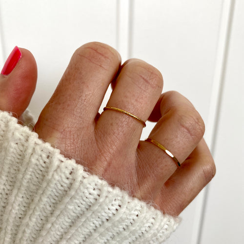 STACKS | Gold Stacking Rings