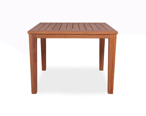 Lloyd Flanders Mesa 5-Piece Teak Square Dining Collection