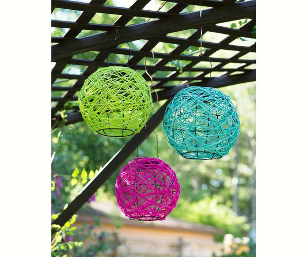 Lumispheres Nest Solar Lantern - Assorted Colors