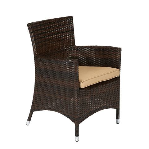 Rica 7-Piece Wicker Dining Set