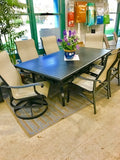 Contemporary Rectangle Dining Set