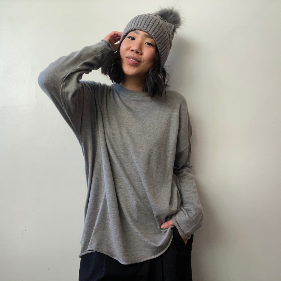 JUDE Crew Knit Sweater
