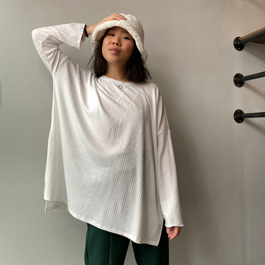 FREEDOM Oversized Knit Top