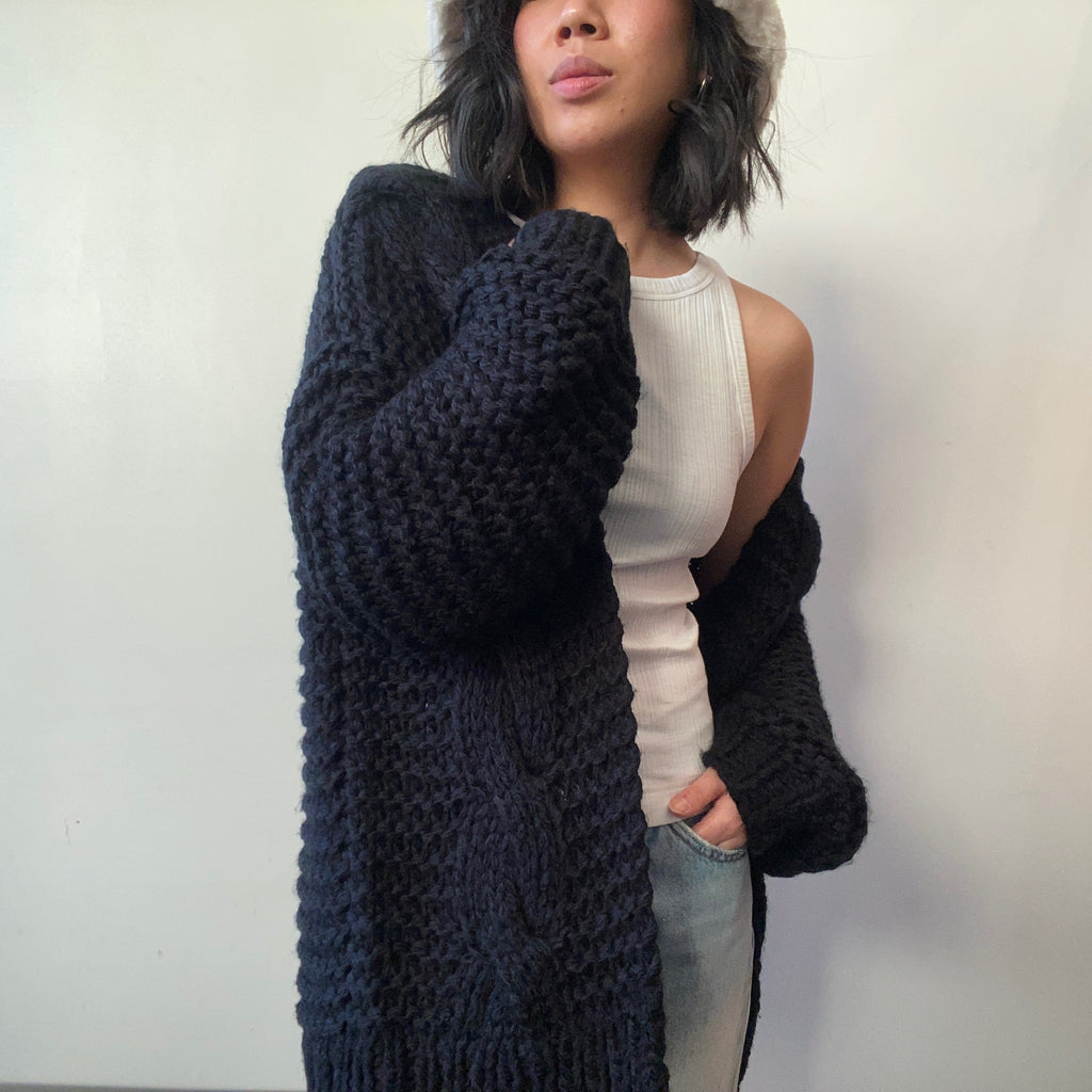 BRIELLE  Hand Knit Cardigan
