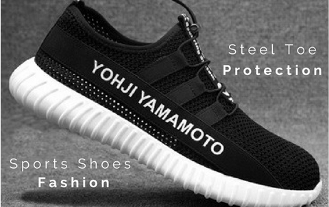 KTG Safety Shoes - Steel Toe Protection, Sports Shoes Fashion