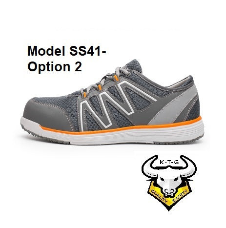 Composite Toe Sports Safety Work Shoes - Model SS41 (Option 2)