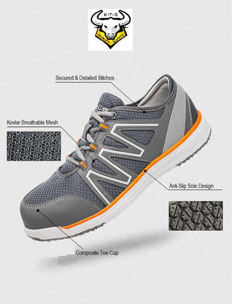 Composite Toe Sports Safety Work Shoes - Model SS41 (Option 3)