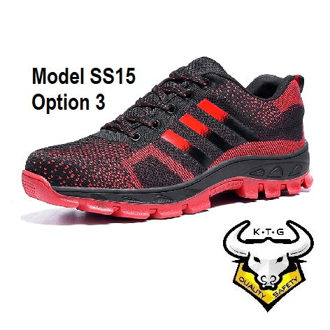 Steel Toe Sports Safety Shoes - Model