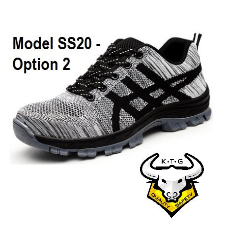 Steel Toe Sports Safety Work Shoes