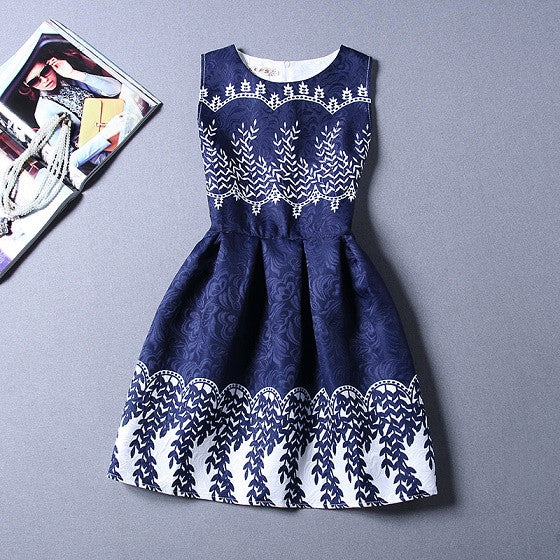 Vintage Flower Print and Patterned dresses for Ladies