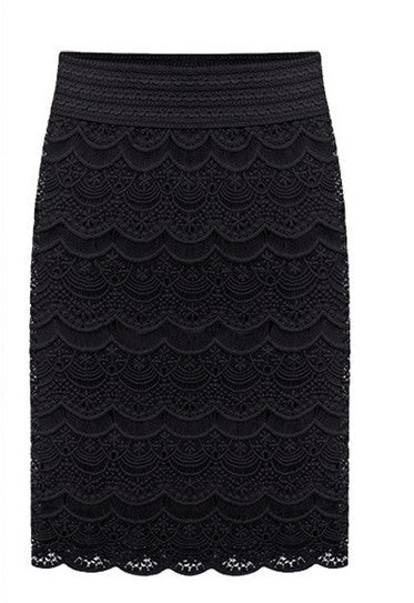 "Ladies High Waist Bodycon Skirt Lace Womens Skirts  ""+Shiriza.com + Spring + Summer"" Female Black Saia Curta Feminino Vintage Formal Ladies pencil skirt in wedding"
