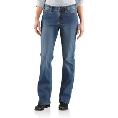 Carhartt Misses Washed Indigo Jasper Relaxed Fit Jeans