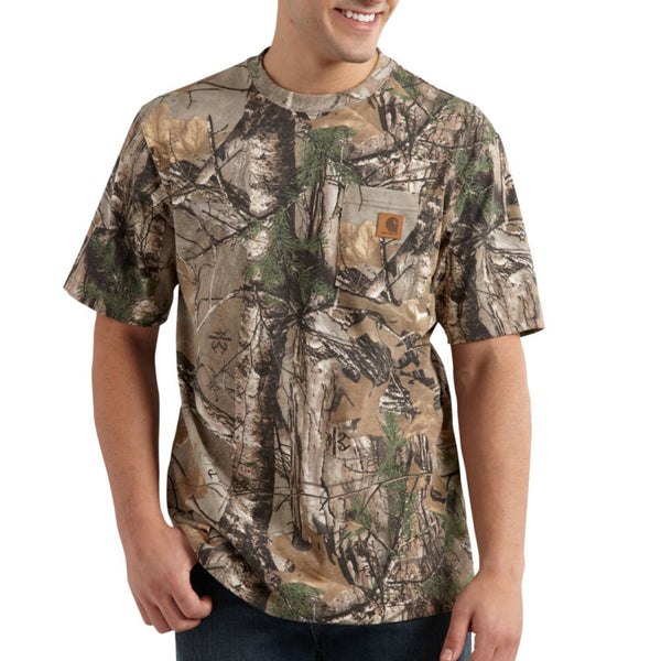 Carhartt Men's Camo SS T-Shirt