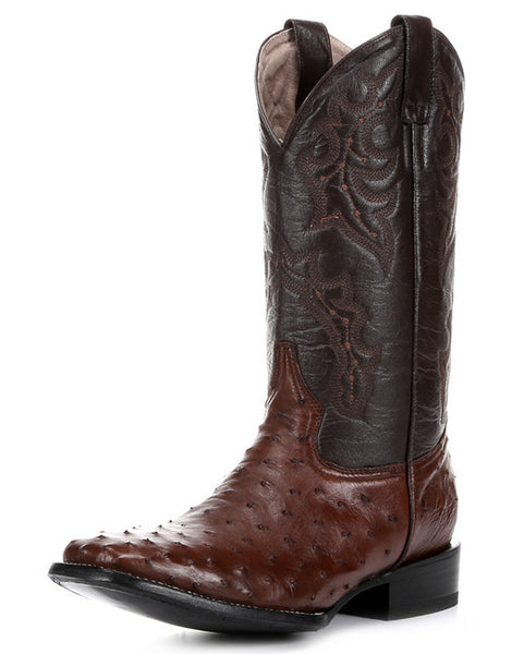 Circle G (By Corral) Men's Full Quill Ostrich Boots