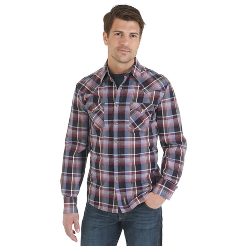Wrangler Fashion Snap Long Sleeve Shirt