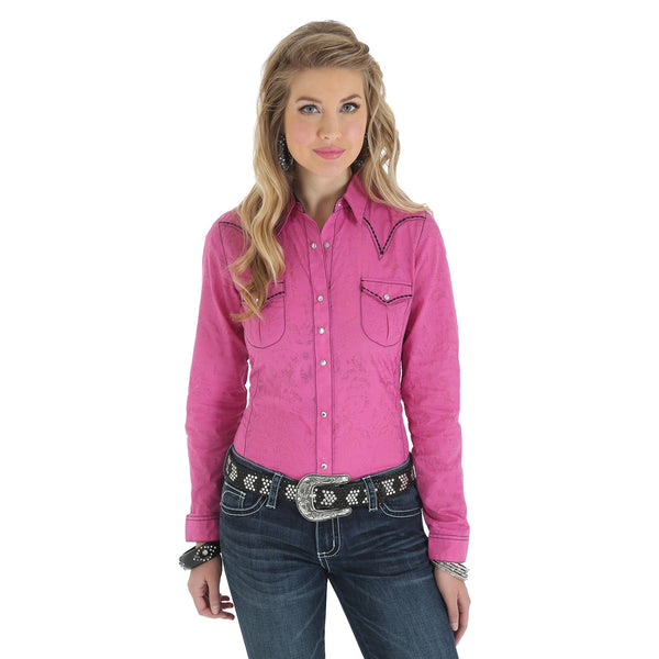 Wrangler Women's Rock 47 Snap Shirt
