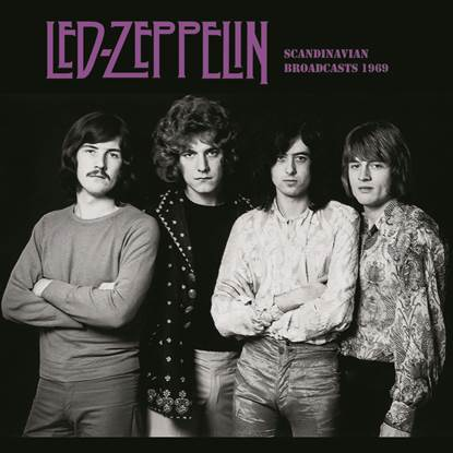 LED ZEPPELIN - Scandinavian Broadcasts, 1969 DSLEE003 compact disc