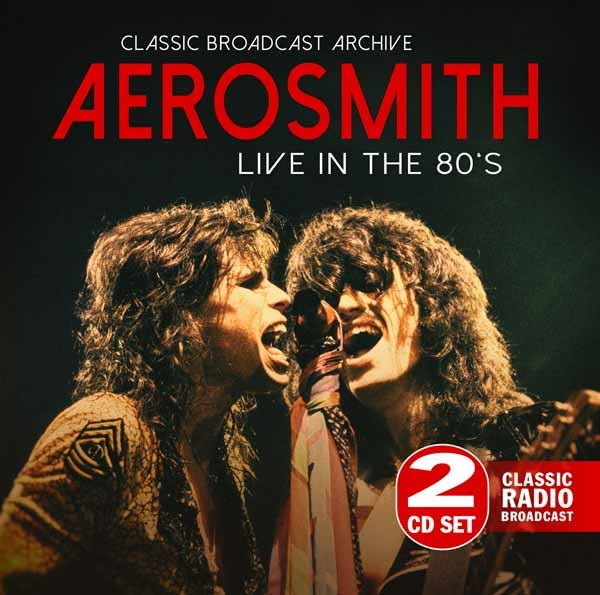 LIVE IN THE 80'S (2CD)  by AEROSMITH  Compact Disc Double