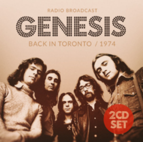 BACK IN TORONTO / 1974 (2CD) by GENESIS Compact Disc Double  pre order