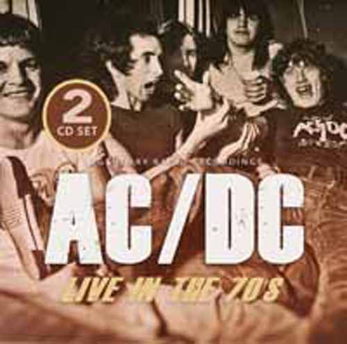 LIVE IN THE 70S - RADIO BROADCASTS (2CD)  by AC/DC  Compact Disc Double  1149142   pre order