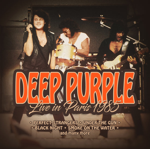 LIVE IN PARIS 1985 by DEEP PURPLE Compact Disc 1149422