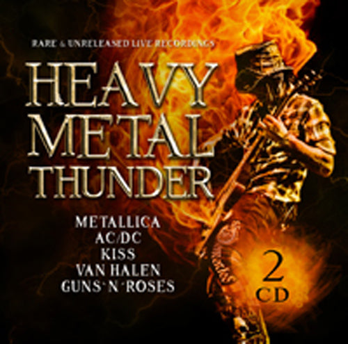 HEAVY METAL THUNDER (2CD) by VARIOUS ARTISTS Compact Disc Double 1149442