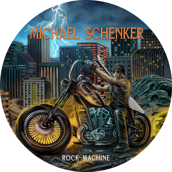 "ROCK MACHINE (PICTURE LP) by MICHAEL SCHENKER Vinyl 12"" Picture Disc 1149495"
