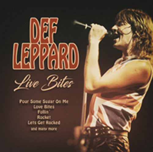 LIVE BITES / FM BROADCAST by DEF LEPPARD Compact Disc 1149572