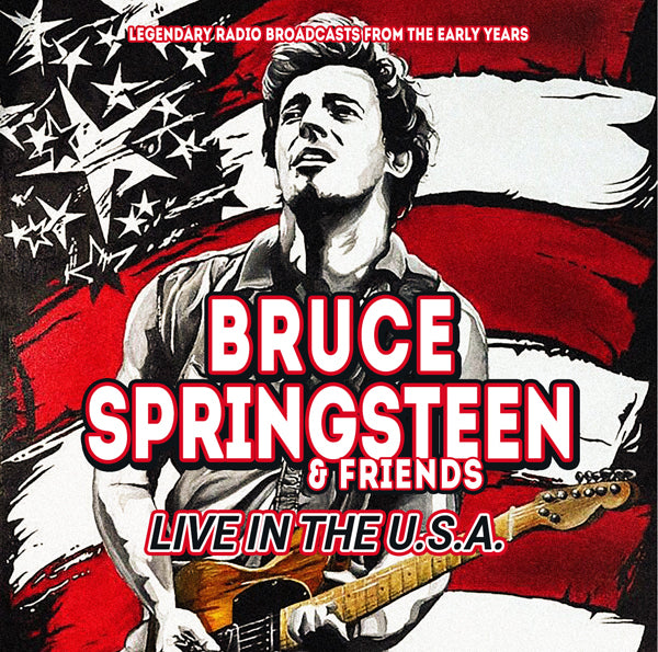 LIVE IN THE USA by BRUCE SPRINGSTEEN Compact Disc 1149612