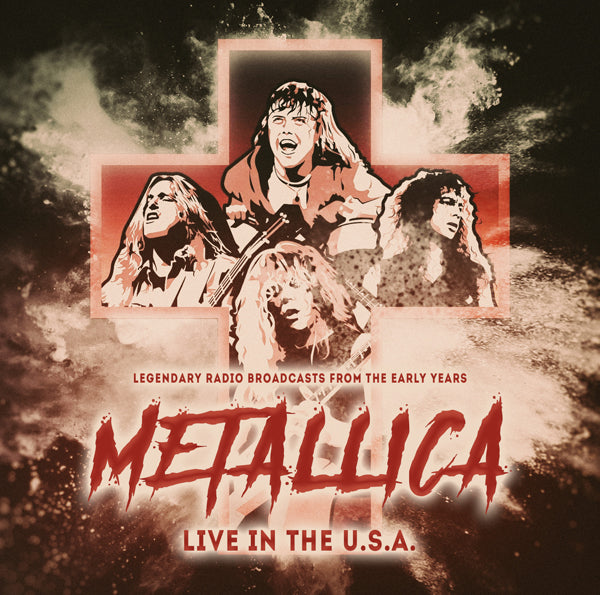LIVE IN THE USA by METALLICA Compact Disc 1149622