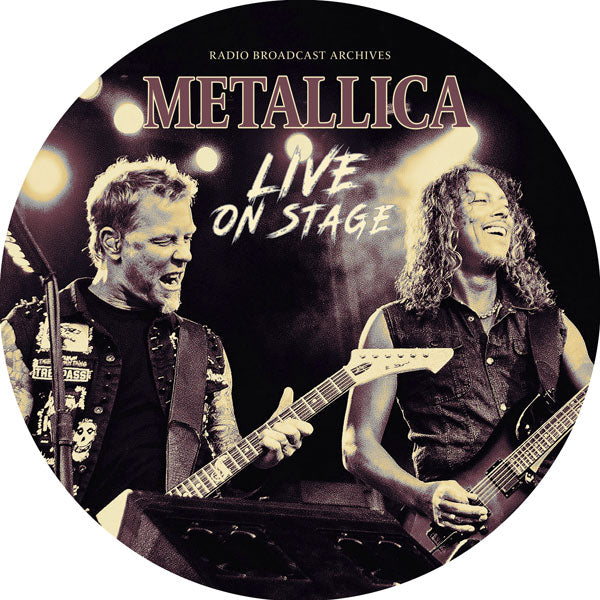 "LIVE ON STAGE (PICTURE LP) by METALLICA Vinyl 12"" Picture Disc  1149831"
