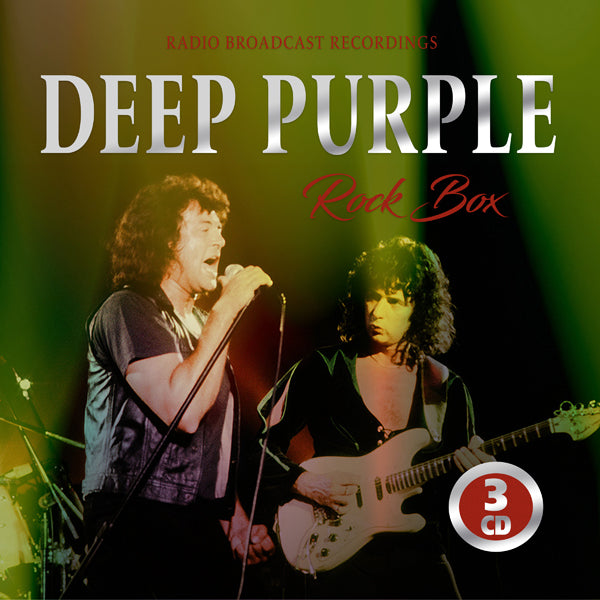 ROCK BOX (3CD) by DEEP PURPLE Compact Disc - 3 CD Box Set  1149962