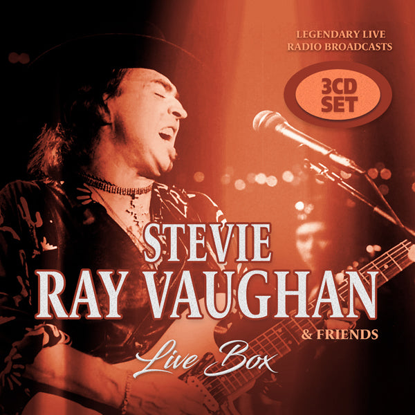 LIVE BOX (3CD) by STEVIE RAY VAUGHN & FRIENDS Compact Disc - 3 CD Box Set  1149972