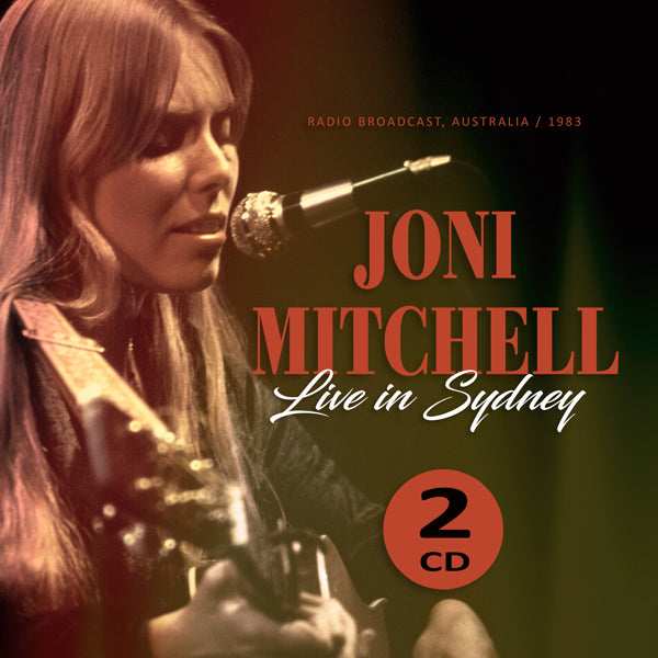 LIVE IN SYDNEY 1983 (2CD) by JONI MITCHELL Compact Disc Double  1150262