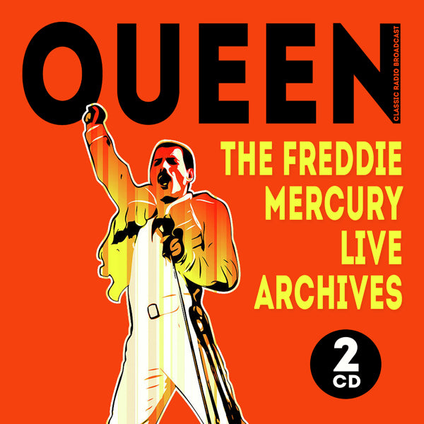 THE FREDDIE MERCURY LIVE ARCHIVES (2CD) by QUEEN Compact Disc Double  1150272