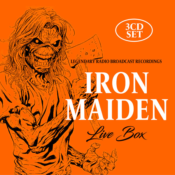 LIVE BOX (3CD) by IRON MAIDEN Compact Disc - 3 CD Box Set  1150282
