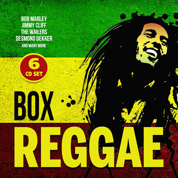 REGGAE BOX (6CD) by VARIOUS ARTISTS Compact Disc Box Set