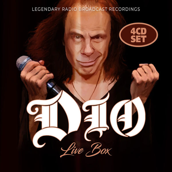 LIVE BOX (4-CD SET) by DIO Compact Disc - 4 CD Box Set