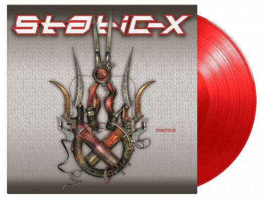 MACHINE (COLOURED) by STATIC-X Vinyl LP  MOVLP1435C