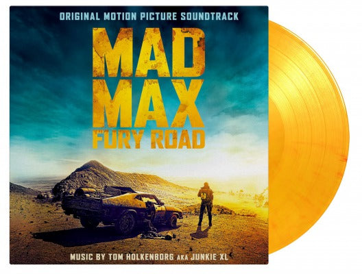 ORIGINAL SOUNDTRACK MAD MAX FURY ROAD (JUNKIE XL) 2 x colour vinyl lp MOVATM045C