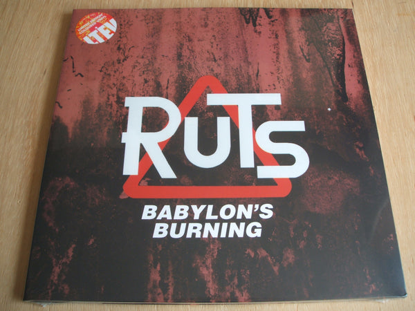 The Ruts ‎– Babylon's Burning 2 × Vinyl, LP, Compilation LETV309LP