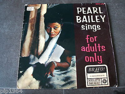 "pearl bailey   sings for adults only   1966 uk bravo label 7"" e.p excellent"