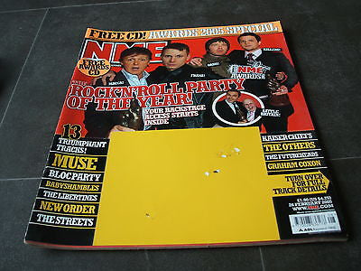 new musical express nme 26th febuary  2005 awards special