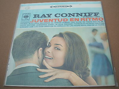 ray conniff   juventud en ritmo  south american / colombian cbs pressing lp