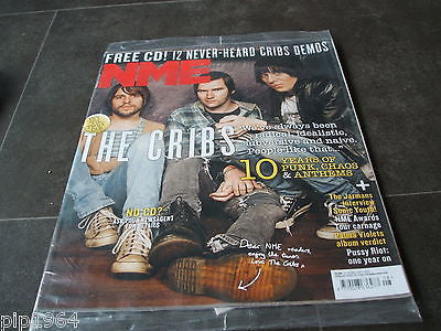 new musical express 23rd Feb 2013 cover stars The Cribs